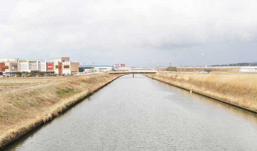 宇ノ気川の写真